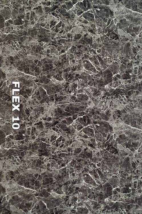 FLEX 10 - Emperador Black PVC Marble, size 8x4ft (32 sq. ft.)