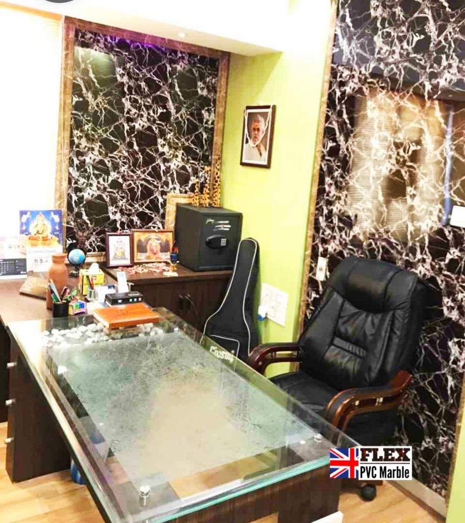 Emperador FLEX PVC MARBLE for OFFICE WAL