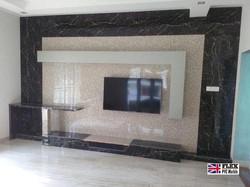 living room tv wall pvc marble sheet