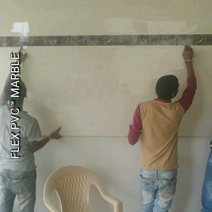 easy fixing flex pvc marble sheets