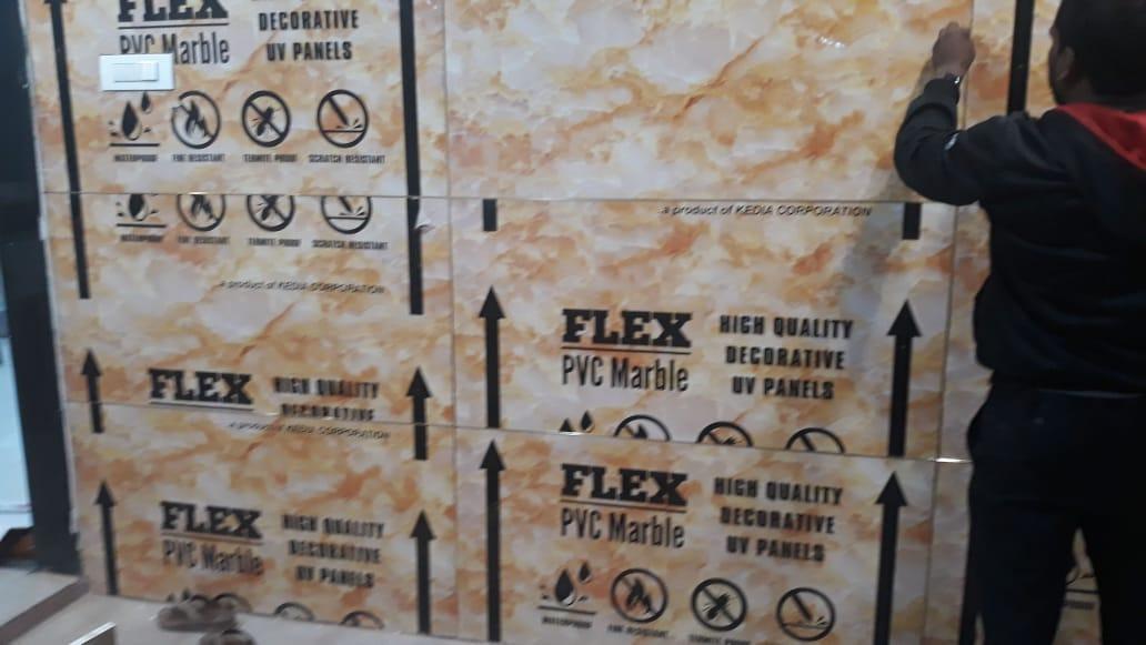 flex pvc marble Installation 3