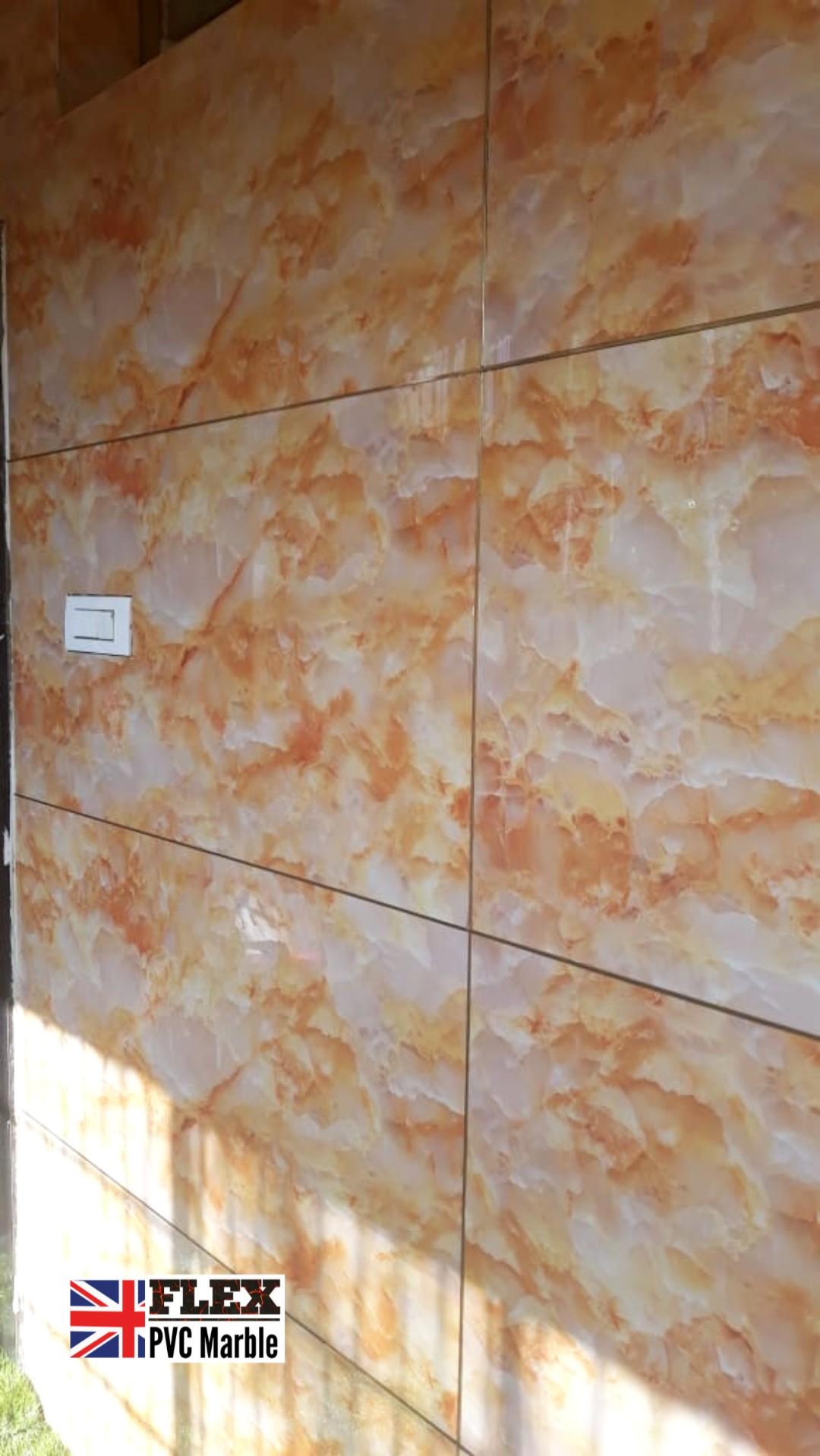 pvc marble progress