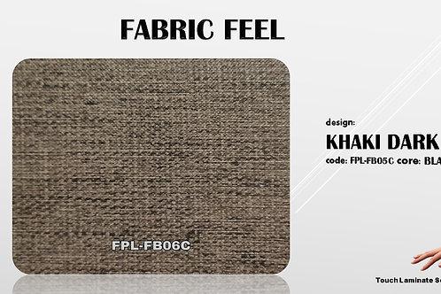 FB06C Khaki Dark Fabric Texture Grains
