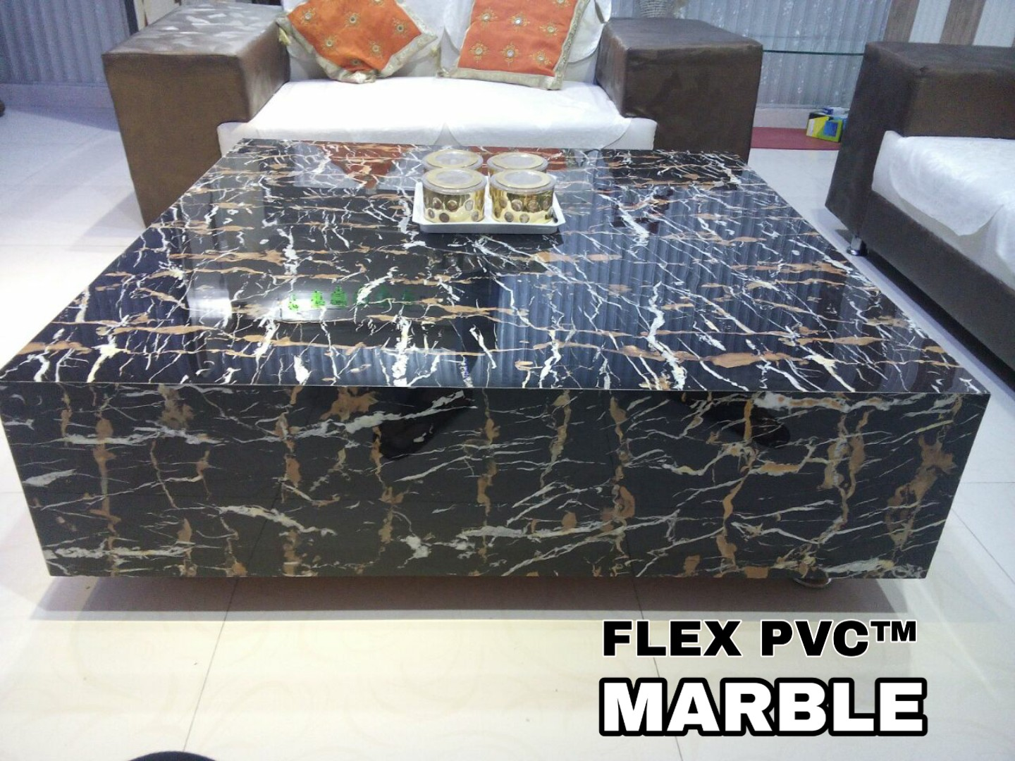 Furniture PVC UV Marble