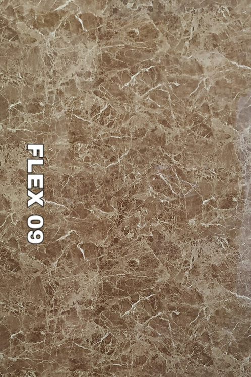 FLEX 09 - Emperador Brown PVC Marble (size 8x4ft, 7 no's)