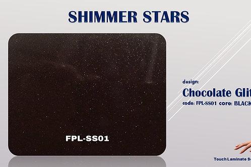 SS01 Chocolate Brown Glitter High Gloss