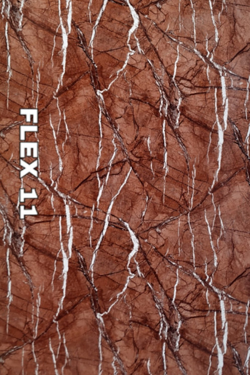 FLEX 11 - Bidasar Brown PVC Marble, size 8x4ft (32 sq. ft.)