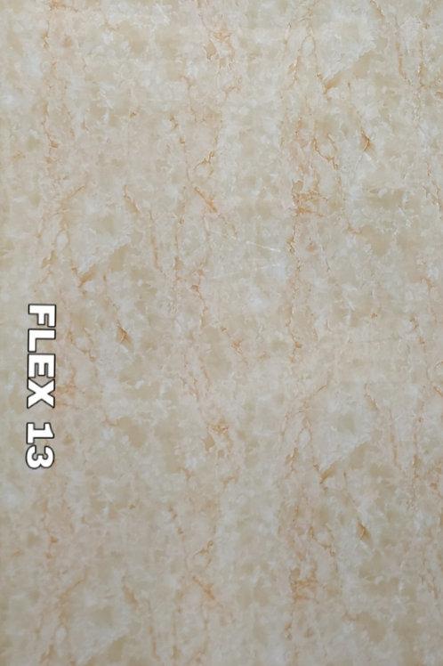 FLEX 13 - Italian Beige Onyx PVC Marble , size 8x4ft (32 sq. ft.)