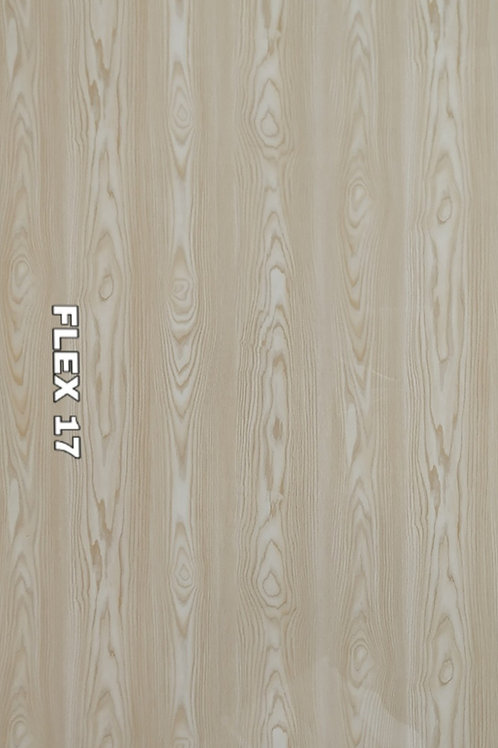 FLEX 17 - PVC Veneer, Hazelnut Natural Oak Wood (size 8x4ft, 7 no's)