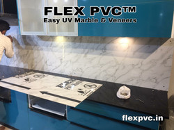 kitchen wall flex pvc marble