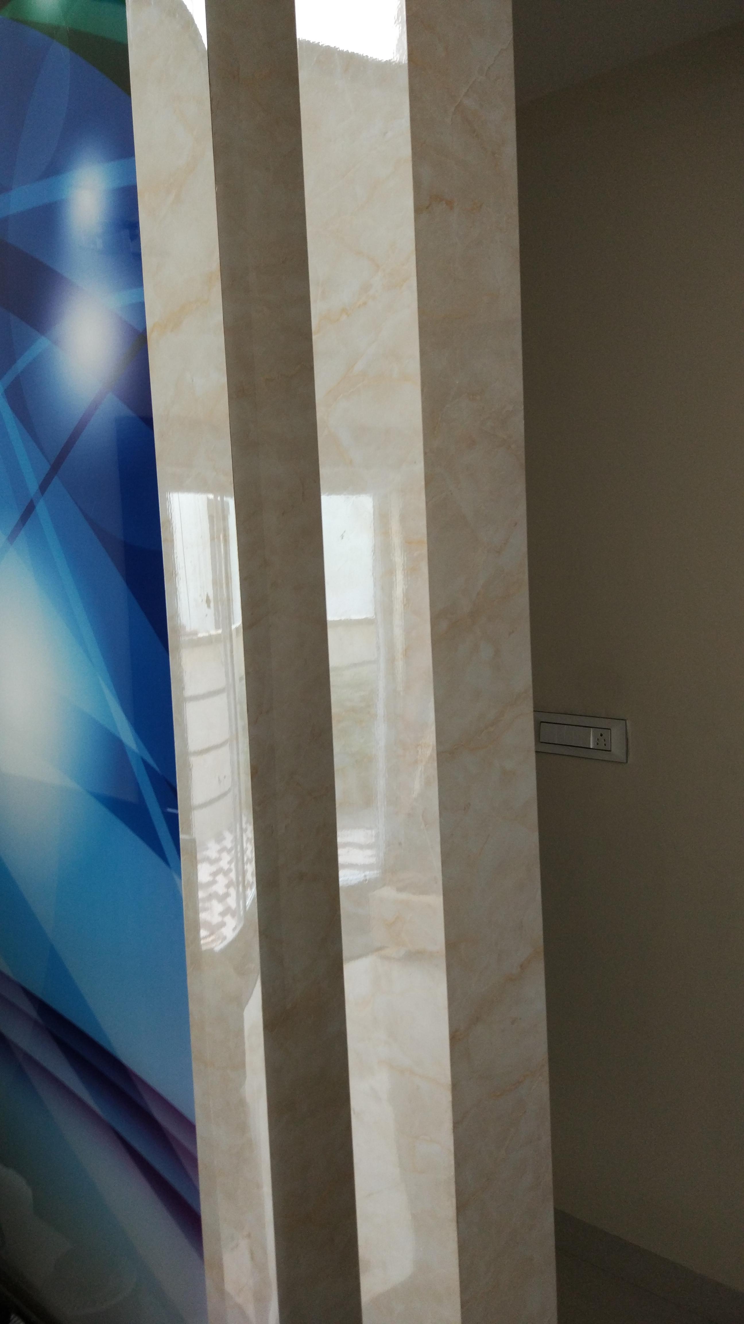 pillar uv pvc marble
