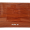 Thumbnail: FLEX 18 - PVC Veneer, Merlot Deco Oak Wood, size 8x4ft (32 sq. ft.)