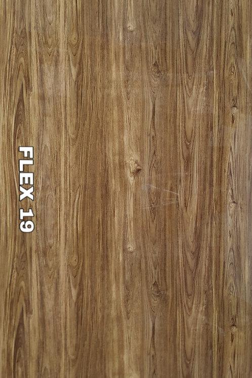 FLEX 19 - PVC Veneer, Barn Oak Wood (size 2x4ft, 4 no's)