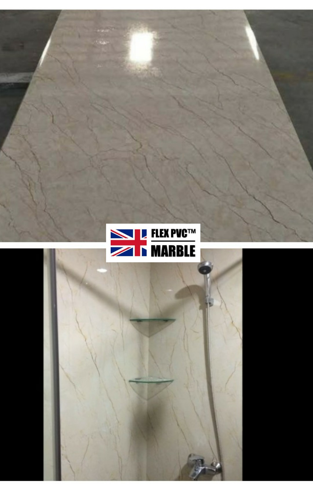 bathroom wall pvc marble