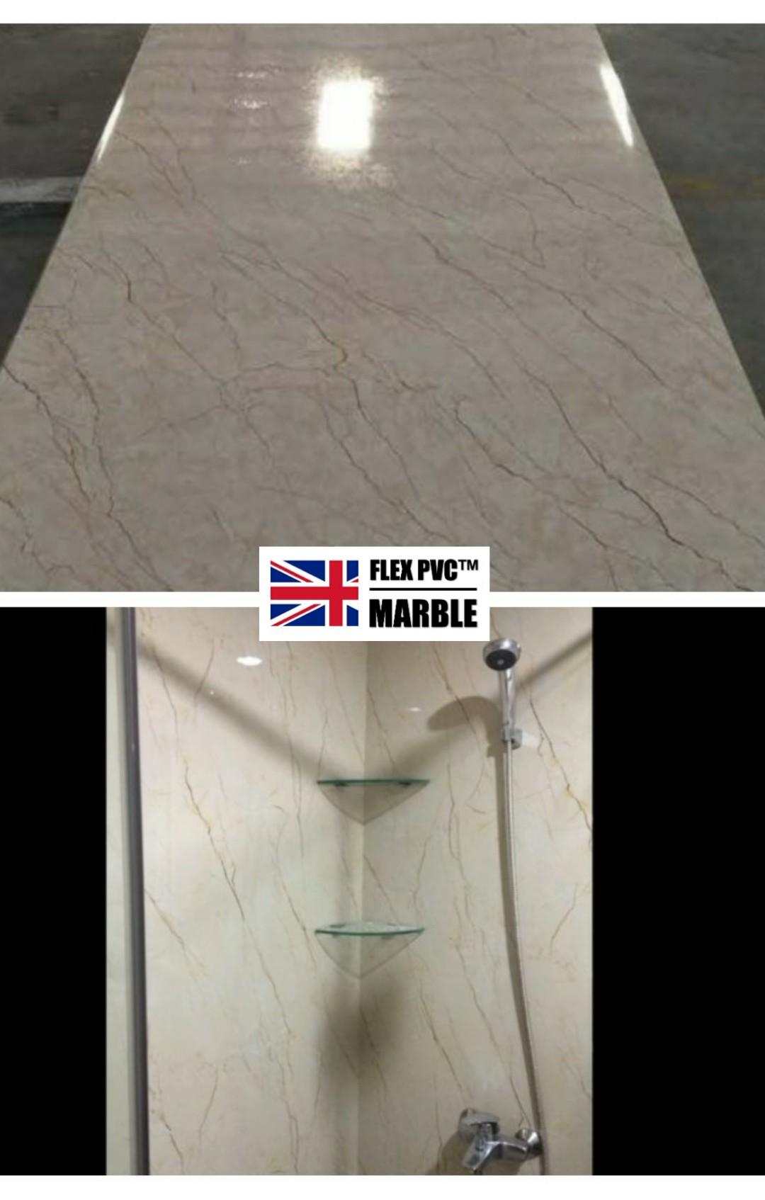 bathroom wall pvc marble