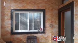 Balcony Wall FLEX PVC Marble
