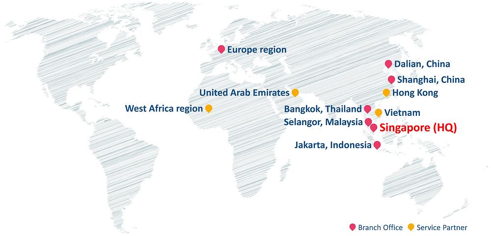 Service Locations of Jason Marine Group