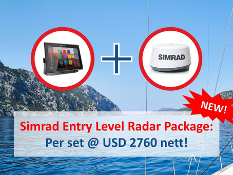 Simrad Radar Bundle
