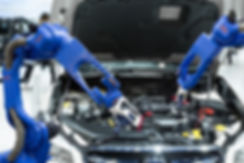 Automated robotic scanning automotive pa