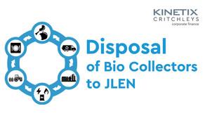 Disposal of Bio Collectors to JLEN