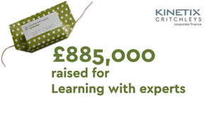 £885,000 raised for Learning With Experts