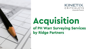 Acquisition of PH Warr by Ridge Partners