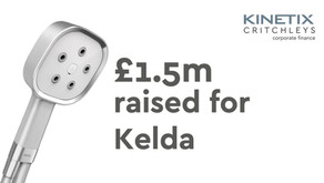 £1.5m Series A Equity Funding round for Kelda
