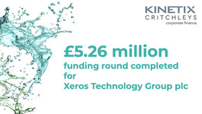 £5.26m raised for Xeros Technology Group plc