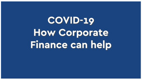 COVID-19: How Corporate Finance Can Help