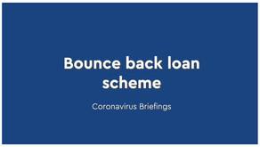 COVID-19: Bounce back loan scheme