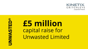 £5 million capital raise for Unwasted Limited