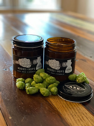 WOODS + HOPS Candle