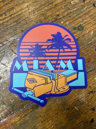 Miami 'Vice' Sticker