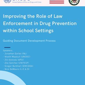 Evento UNODC: O Papel dos Policiais na Prevenção ao Uso de Drogas