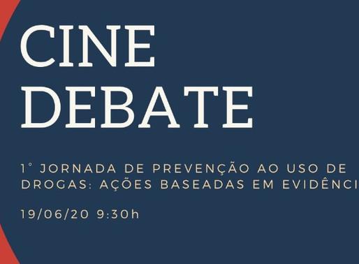 Cine debate encerrou a 1ª semana de atividades da 1ª Jornada de Prevenção ao Uso de Drogas
