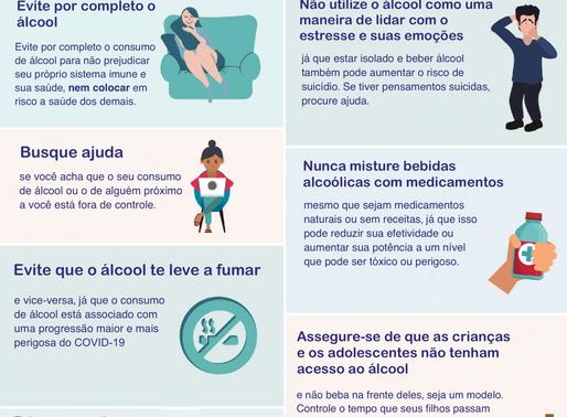 Álcool e COVID-19: O que devemos saber