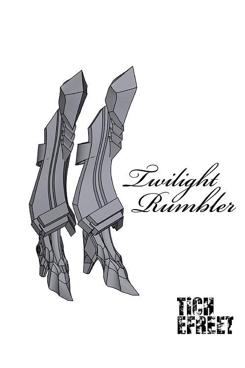レガース&ハイヒール twilight rumbler