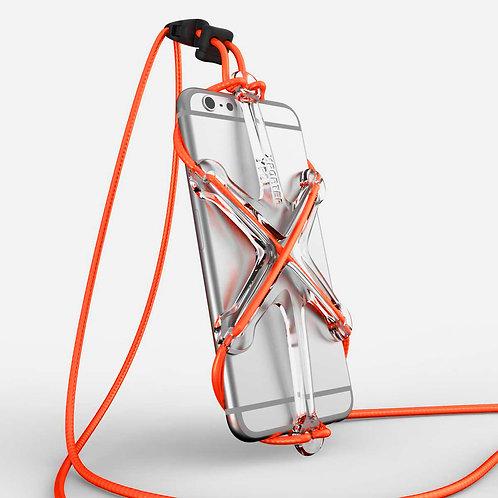 XPORTER NEO for Smartphones Clear & Orange