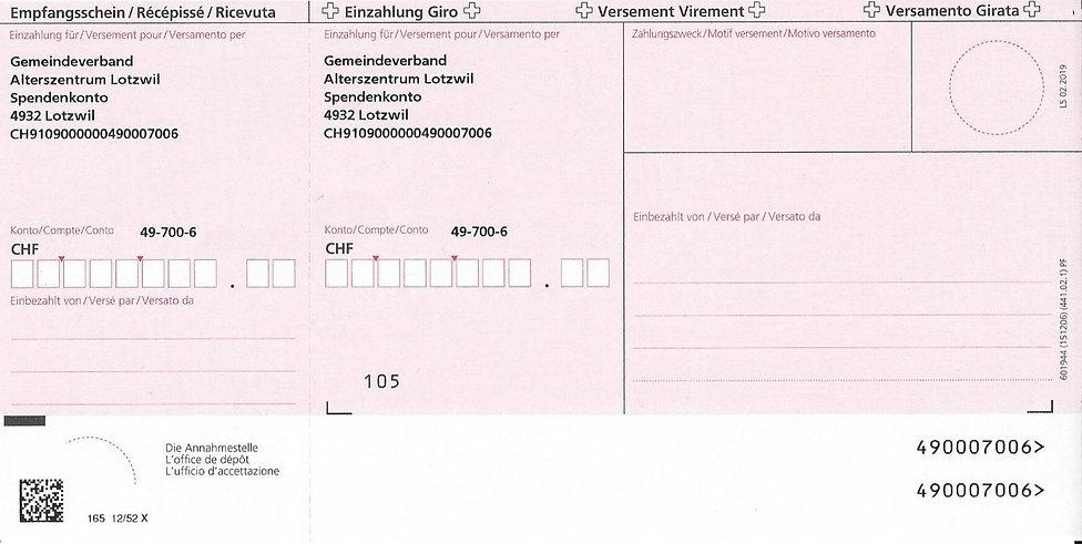 Einzahlungsschein_Alterszentrum_Lotzwil_