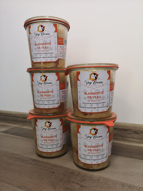 Blanquette de Veau - 3-4 parts - 490 g
