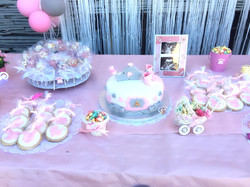 Mesa dulce en detalle