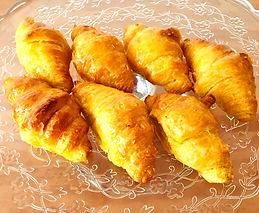 Mini croissants de mantequilla