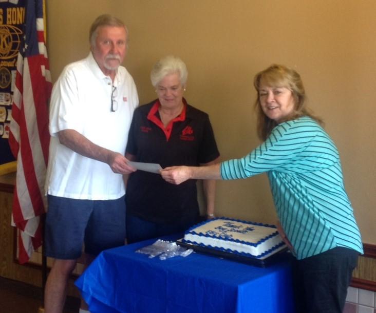 Fontana Elks Club receive thanks
