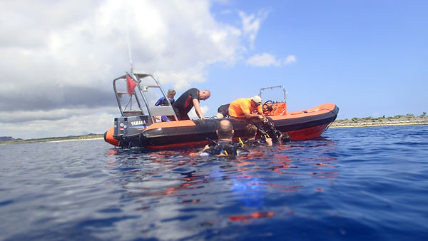 The Dive Charter Curacao RIB