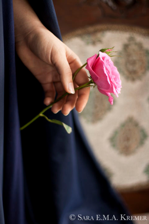 A Rose In Hand