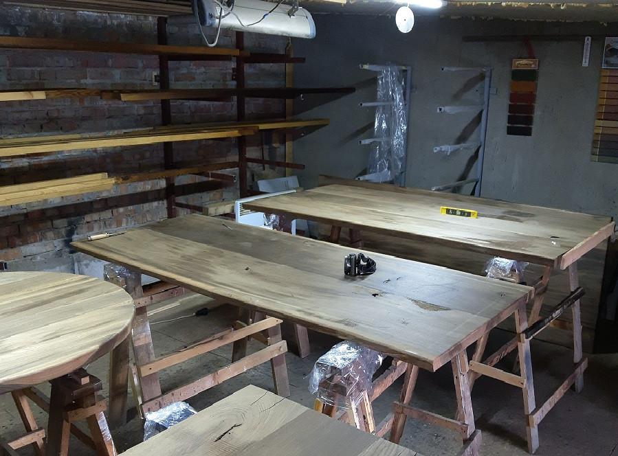 Процесс производства мебели из термодерева