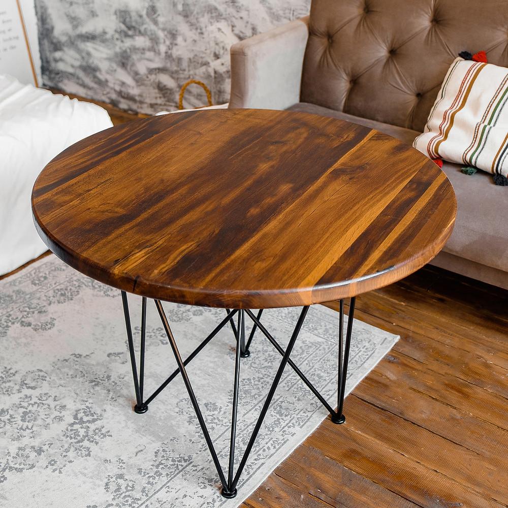 Журнальный столик из термодуба