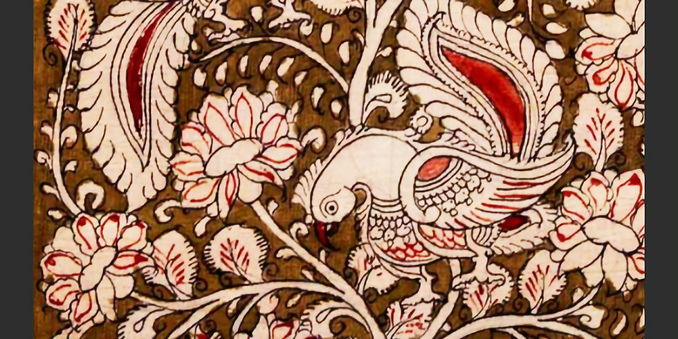 Online - Kalamkari Painting on Canvas