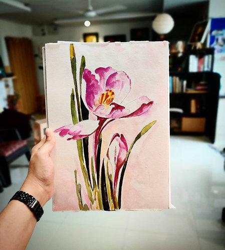 Pretty Please (Watercolor)