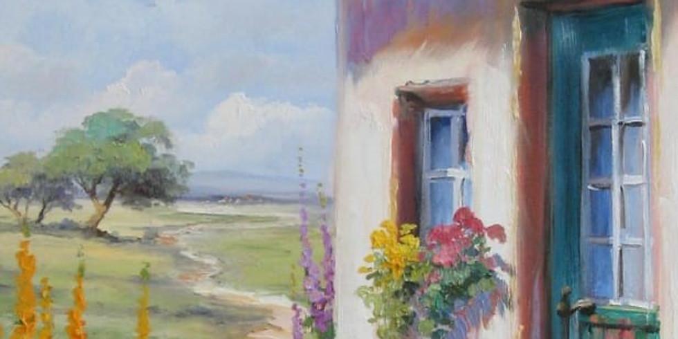 Online - Acrylic on Canvas